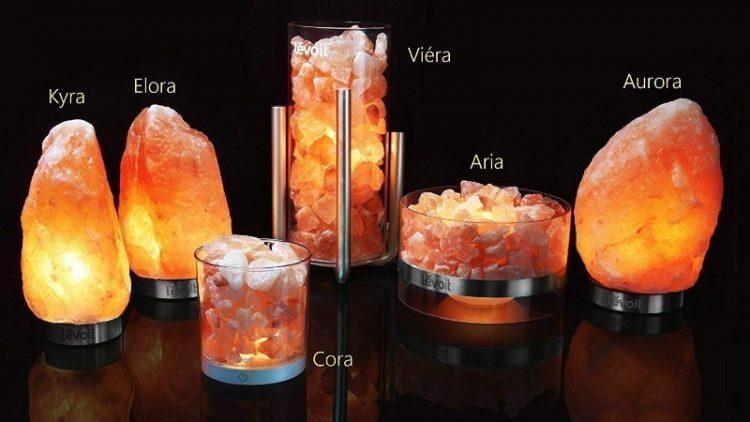 lamparas de sal levoit