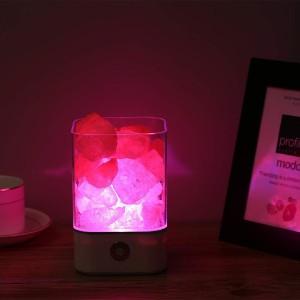 lamparas cristal colores