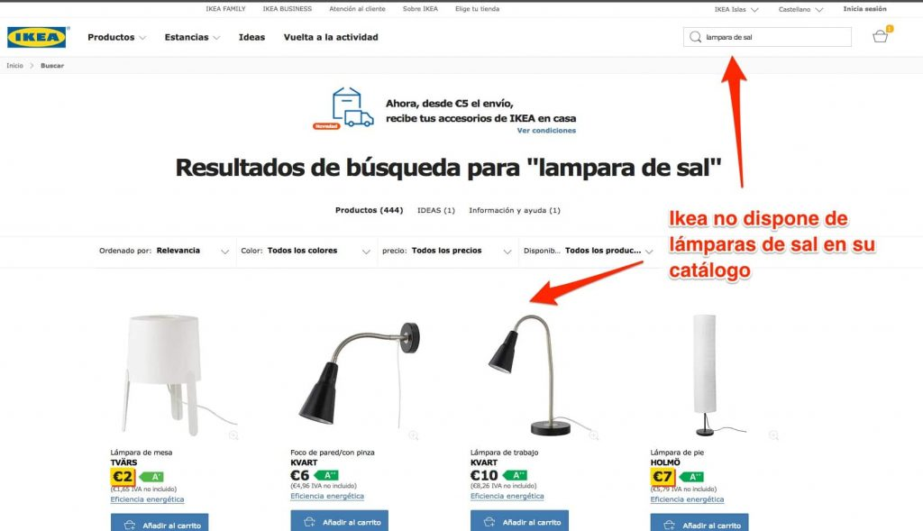ikea catalogo lamparas