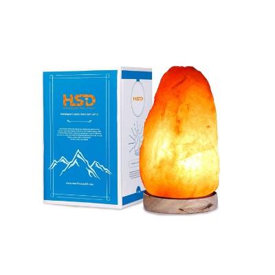 lampara piedra de sal