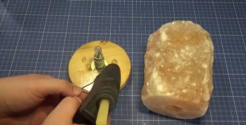 como hacer lampara de salon