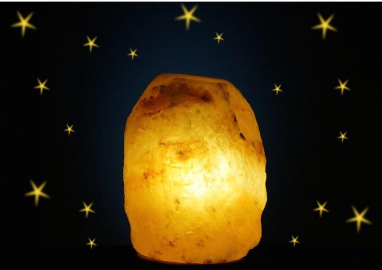 lamparas sal del himalaya
